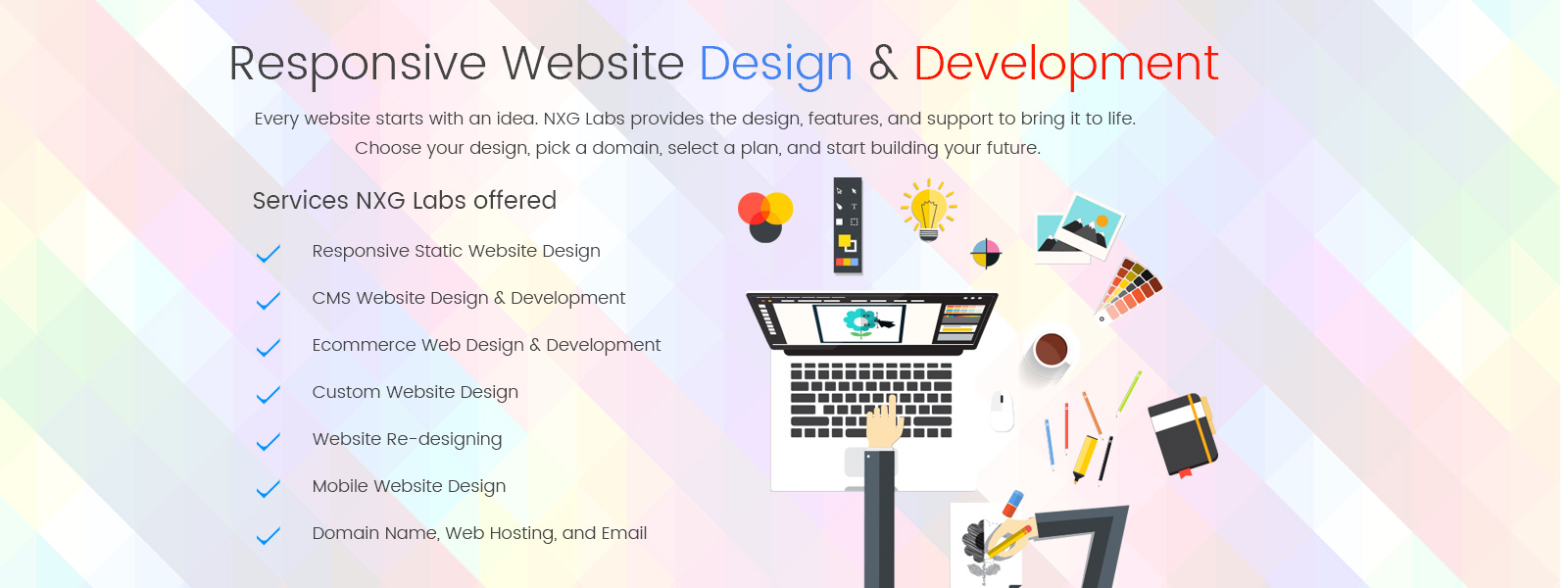 Website Design & Development in India
